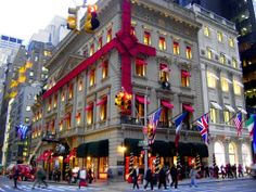 New York City Christmas - the department stores decorated for the holiday are so much fun to visit!! MV