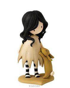 Gorjuss Collector Figurines - I Love You Little Rabbit Figurine - Santoro…