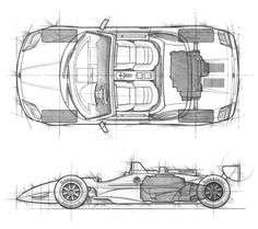 Joe Saputo - Technical illustration automobile