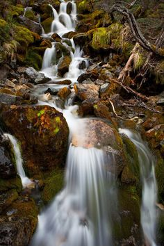 """Patagonian Waterfall"" - Los Glaciares National Park, Argentina - Patagonia - www.colbybrownphotography.com"