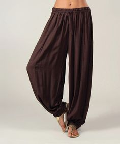 Take a look at the Aller Simplement Choco Soft Pants on #zulily today!