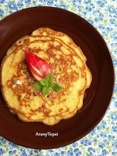 French Toast, Pancakes, Food And Drink, Homemade, Baking, Breakfast, Hungarian Recipes, Morning Coffee, Home Made