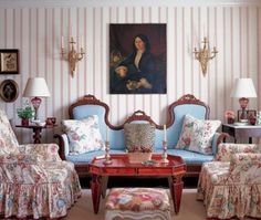 Romantic Decor: An Ode to Chintz