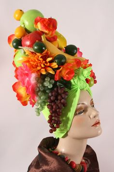 Carmen Miranda Turban by buddhagouda on Etsy
