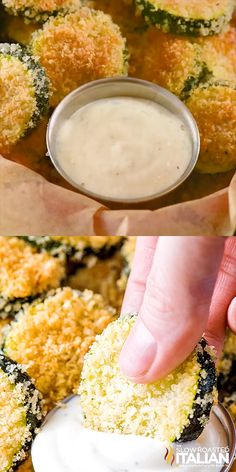 These tender Baked Zucchini Chips are coated in a scrumptious breading and are perfect for a fun appetizer or easy snack. Plus, its easy to customize this recipe with a few herbs or your favorite dip! Parmesan Zucchini Chips, Bake Zucchini, Zuchinni Chips, Breaded Zucchini, Zucchini Bites, Zucchini Lasagna, Veggie Recipes, Snack Recipes, Cooking Recipes