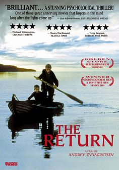 Find more movies like The Return to watch, Latest The Return Trailer, In the Russian wilderness, two brothers face a range of new, conflicting emotions when their father - a man they know only through a single photograph - resurfaces. Good Movies To Watch, Great Movies, Movie List, Movie Tv, Movie Info, Kino International, Movies Worth Watching, Instant Video, Netflix Movies