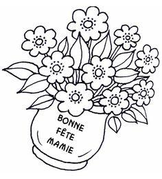Coloriage Gratuit Bonne Fete Mamie.27 Meilleures Images Du Tableau Bonne Fete Mamie Happy Name Day