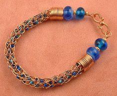 Viking Knit Tutorial Intro to Viking Knit Jewelry by tasminann