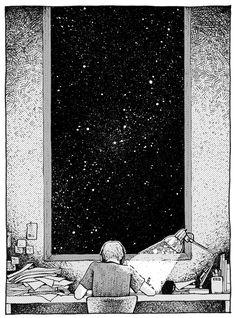 late into the night by nawafiai.deviantart.com on @deviantART