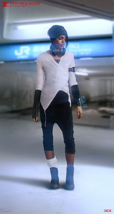 """Mirror's Edge: Catalyst"" - Plastic - Character Concept, Per Haagensen on ArtStation at https://www.artstation.com/artwork/2dW5Y"