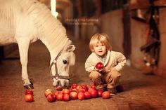Child and horse photo by Elena Karneeva.