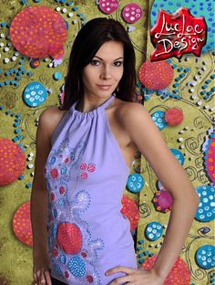 LucLac / Spring has come! Lily Pulitzer, Ale, Lilac, Hand Painted, Diy Crafts, Spring, Clothing, T Shirt, Handmade