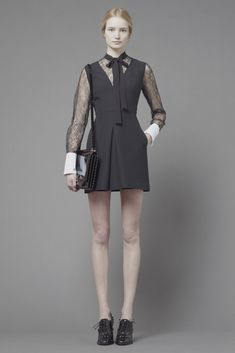 Valentino Pre-fall 2013. Vintage inspired look.
