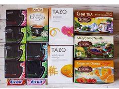 Chiclets y  té