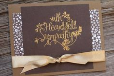 June 11, 2015 by Anna Smith, Scrapping Stamping and Stuff: Stampin' Up! Heartfelt Sympathy, Neutrals backgrounds