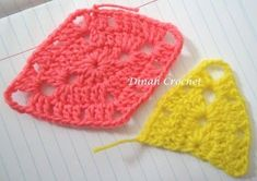 .. ❀ Crochet di Dinah ❀ ..: Crochet Prairie Afghan Star ~ Tutorial by marsha