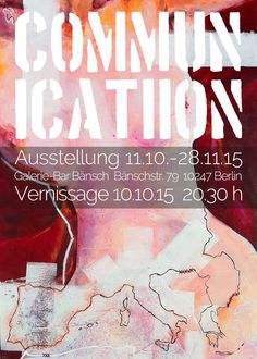 Vernissage & Exhibition in Berlin. You're Welcome! #art #exhibition #vernissage #painting #berlin