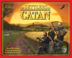 One of my favorites, Setters of Catan.