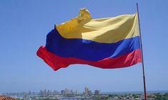 Bandera en la herorica by Colombia en Fotos, via Flickr Colombia en Fotos