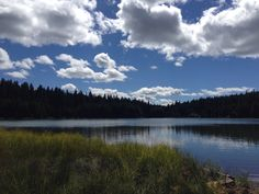 North end of Timothy Lake on a hike in Mt. Hood National Forest