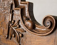 This little chap is the particularly unusual signature of Robert 'Mousey' Thompson. The Mouseman of Kilburn was known to put small mice on all his furniture and our Governor's Chair dating from the 1920's is no exception! Robert Thompson, Wooden Shapes, Arts And Crafts Movement, Wood Sculpture, Antique Furniture, Wood Art, Wood Crafts, Miniatures, Antiques