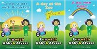 Fun with Abby & Alyssa Book Series 1   Manufacturer Direct Price: $29.95  	  Price includes three books. They are two real girls with significant medical challenges who use sign language to communicate and are inspirational to anyone who wishes to learn sign language.