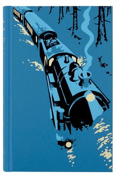 Murder on the Orient Express by Agatha Christie. Folio edition. Illustration by Andrew Davidson.