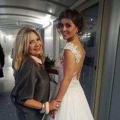 Uno scatto con la sposa dopo la puntata di oggi Raffaela è stupenda!