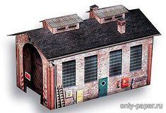Разные здания из бумаги, модели бумажные скачать бесплатно - Архитектура - Каталог моделей - «Только бумага»