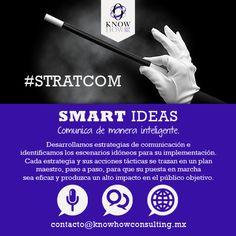 Desarrollamos ideas inteligentes para brindarle el mejor servicio. #STRATCOM #SMARTIDEAS by @KHCMX http://fb.me/3d6IaJVho
