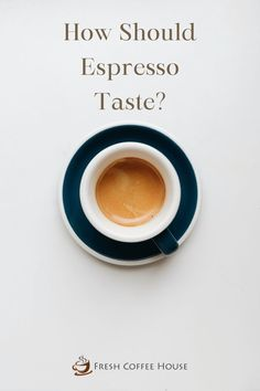 I remember making espresso for the first time. The few extra steps made me a little nervous but what concerned me the most was, how should espresso taste like? If I'm not making the coffee properly, my cappuccino will be off, and my latte will be bitter. Years later, I feel comfortable with answering the question with full confidence. Espresso At Home, Best Espresso, Coffee Canister, Coffee Spoon, Coffee Cream, Black Coffee, Restaurant Plates, Fresh Coffee Beans, Acquired Taste