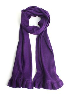 Anything But Basic Scarf in Purple  $13.00