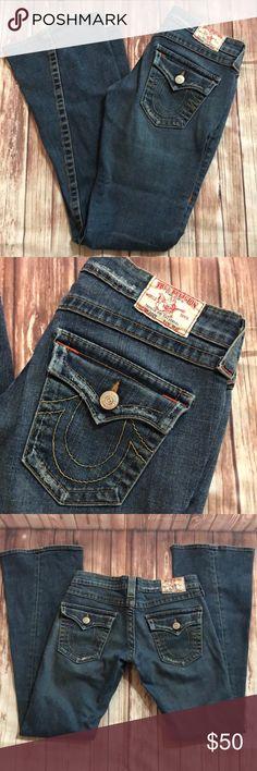 True religion flare leg 27x32 jeans.         CJS Great condition  Smoke free home True Religion Jeans Flare & Wide Leg