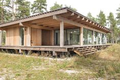 Boge Friggars House / Scott Rasmusson Källander Cabins In The Woods, House In The Woods, Wooden Summer House, Summer Houses, Tiny House Cabin, Timber House, Small House Plans, Building A House, Architecture Design