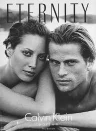 """Calvin Klein Anniversary Edition of """"Eternity"""" Fragrance Ad with Christy Turlington & Mark Vanderloo photographed by Peter Lindbergh. Courtesy of CK Christy Turlington, Eternity Calvin Klein, Peter Lindbergh, Naomi Campbell, Fashion Editorial Couple, Calvin Klein Ads, Calvin Klein Fragrance, Fotografie Hacks, Couple Goals Cuddling"""