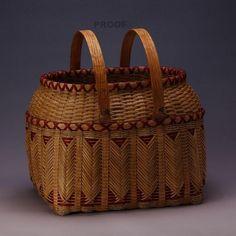 Artha Labath's award winning double walled Cherokee picnic basket.
