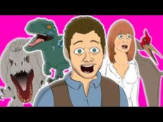 ♪ JURASSIC WORLD THE MUSICAL - Animated Parody Song - YouTube