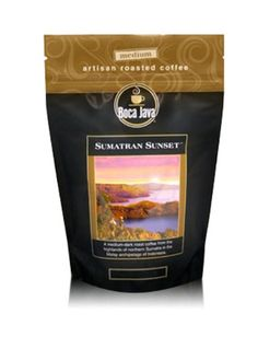 Boca Java Roast to Order, Sumatran Sunset, Decaf Ground, Medium Roast Coffee, 8 oz. bags (Pack of 2) >>> Hurry! Check out this great item : Fresh Groceries