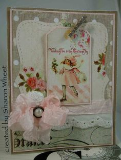 Designs by Sharon: Shabby Christmas
