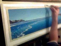 Painting with Acrylics - Seascape - Speed painting