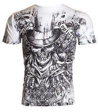 Xtreme Couture AFFLICTION Men T-Shirt OFFERING Skull Tattoo Biker UFC M-4XL $40 Price: INR 3307.8 | India