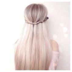 Long Blonde Straight Hair lovecatherine.co.uk Instagram catherine.mw xo