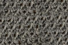 My Tunisian Crochet: Tunisian Purl / Bar Stitch