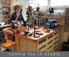 metal and wire jewelry with Connie Fox