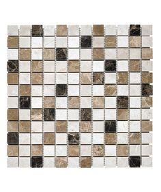 Expresso Marble Mosaic 2.4cm Tile