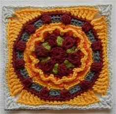 block 9 circles of the sun
