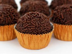Brigadeiros Makes 30 sweet chocolate truffle and has addicted millions of Brazilians, adults and kids alike. I used to eat these all the time when I lived there, so excited to make these!!!