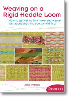 Weaving on a Rigid Heddle Loom (Video Download)