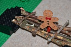 A bridge for The Gingerbread Man Science Activity