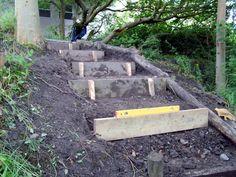 diy garden steps